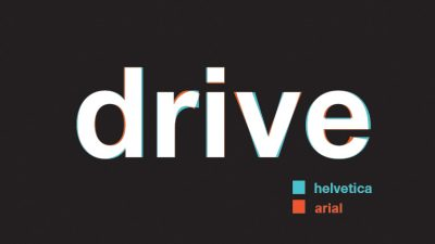drive online font