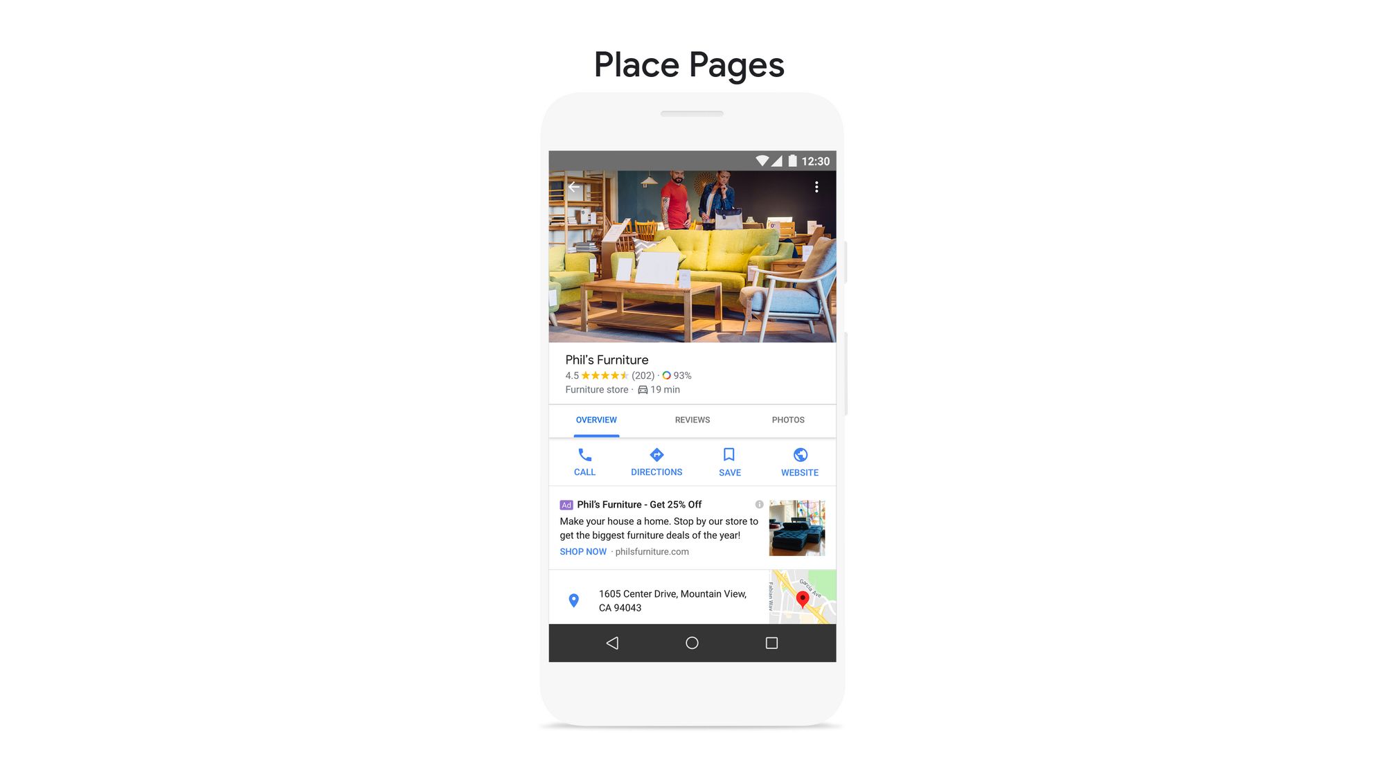 Place Pages