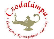 Csodalámpa alapítvány - logó